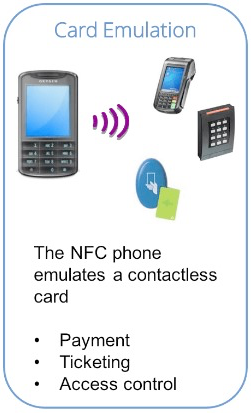 NFC - card emulation mode